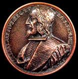 Medaglia di Bartolomeo Arese (recto)