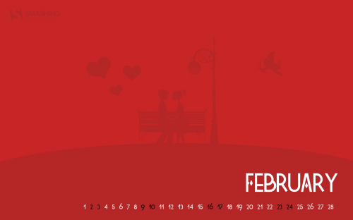 Smashing Wallpaper - february 13