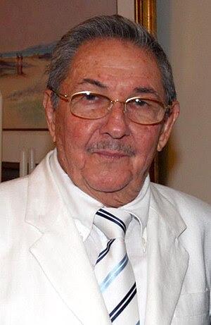 Presidente de Cuba, Raúl Castro, encontra-se c...