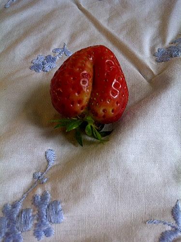 naughty strawberry.jpg by karlakp