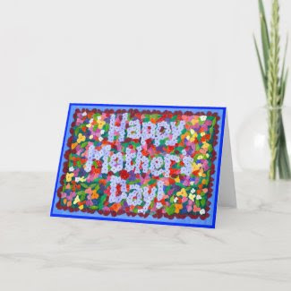 'May Garden' Mother's Day Card card