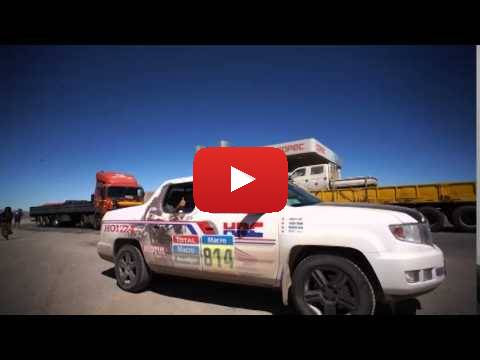 Team HRC Rally Dakar Stage 5 - Behind the Scenes