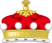 Coronet of a British Baron.svg