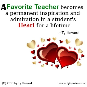 Ty Howards Education And Teacher Quotes Tyquotescom