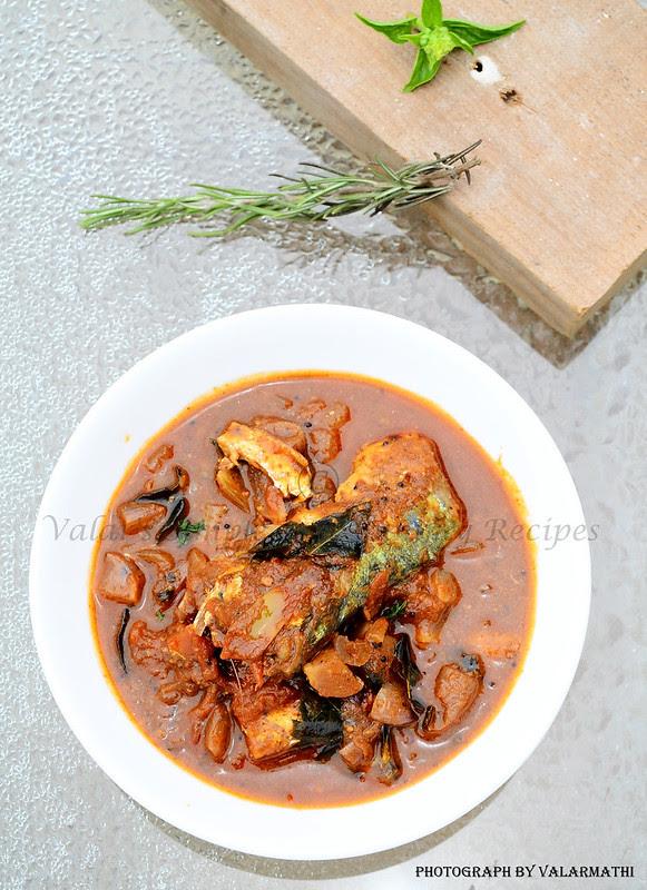 Chettinadu Style Fish Curry
