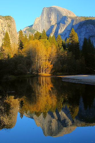 IMG_9646L Half Dome and Reflection in Late Afternoon, Yosemite National Park