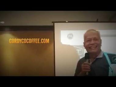 Testimonial Cordyco Coffee | Stamina Terjaga