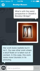 Интерфейс приложения Бруклинского музея. Изображение: brooklynmuseum.org