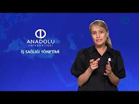 İŞ SAĞLIĞI YÖNETİMİ - Ünite 5 Konu Anlatımı 1 - Açıköğretim Sistemi - Anadolu Üniversitesi