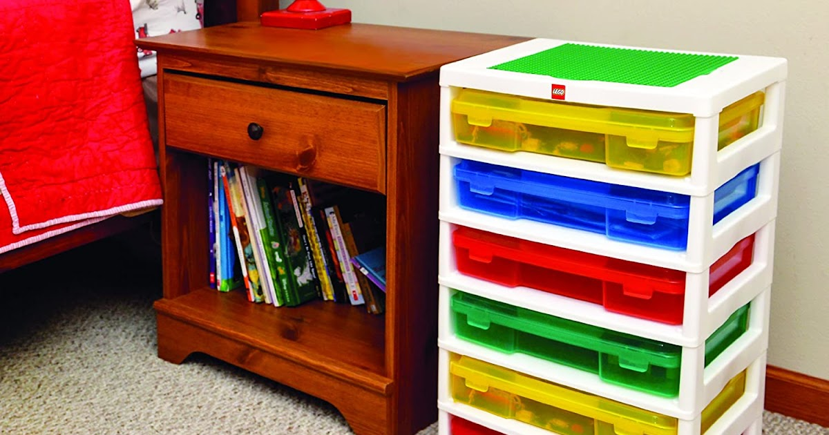 How Awesome Is This Lego Storage!!!