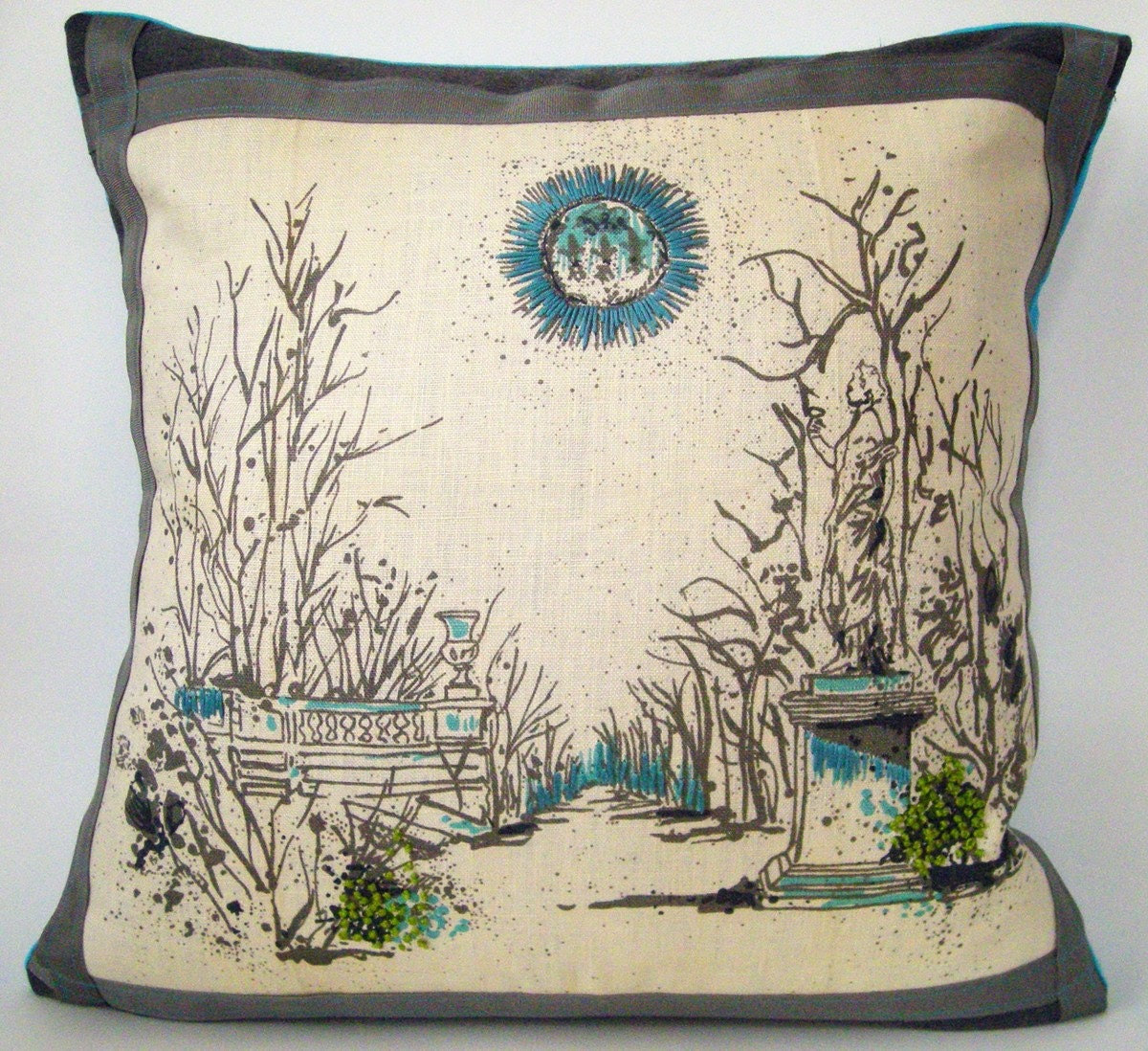 embroidered pillows custom