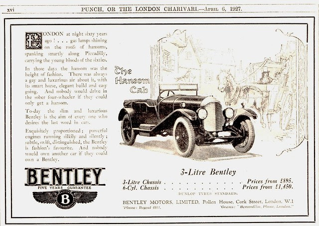 1927 Bentley 3-Litre Tourer