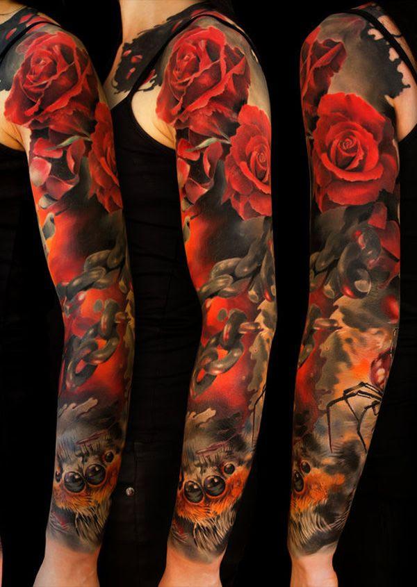 Full Sleeve Tattoo Daily Tattoo Ideas