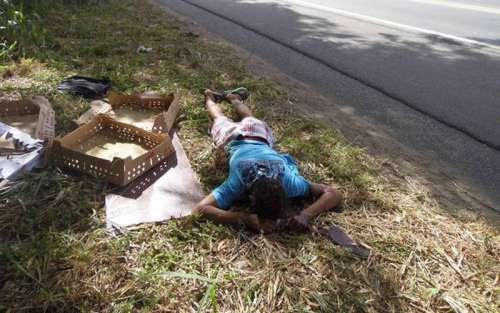 Nova Laranjeiras - Indígena é encontrado morto às margens da BR-277