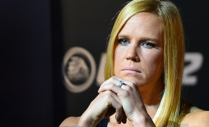 Holly Holm coletiva UFC196 (Foto: Jason Silva)