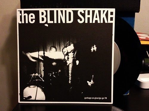 "The Blind Shake - Garbage On Glue 7"" by Tim PopKid"
