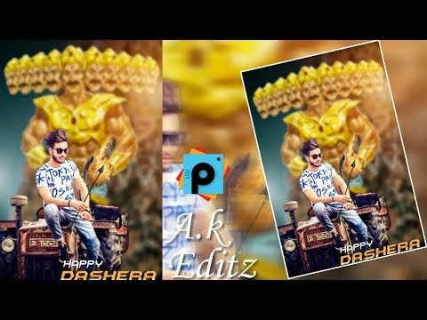 Happy Dussehra editing  Dussehra 2018 picture  Dussehra Picsart editing