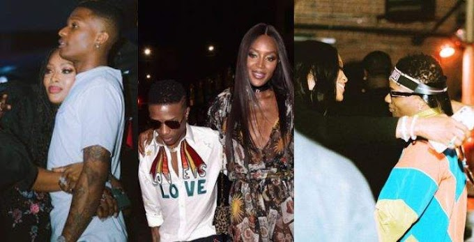 Massive: 10 times BFFs Wizkid and Naomi Campbell served us friendship goals (Photos)