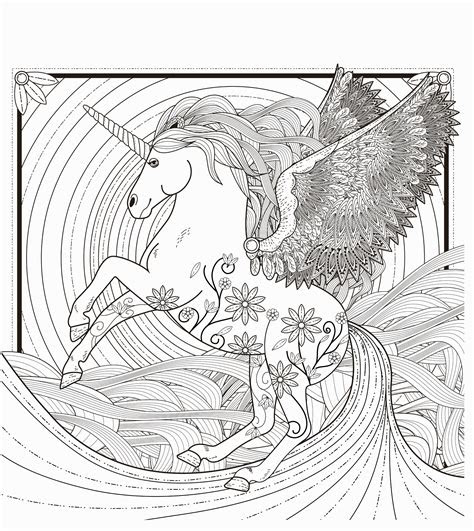 Printable Realistic Unicorn Coloring Pages | Coloring ...