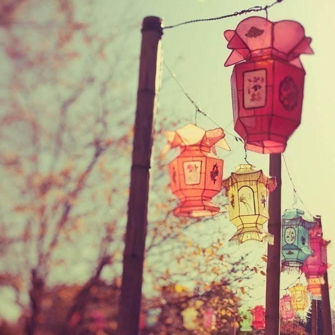 1000 lanterns - A dreamy fine art photograph