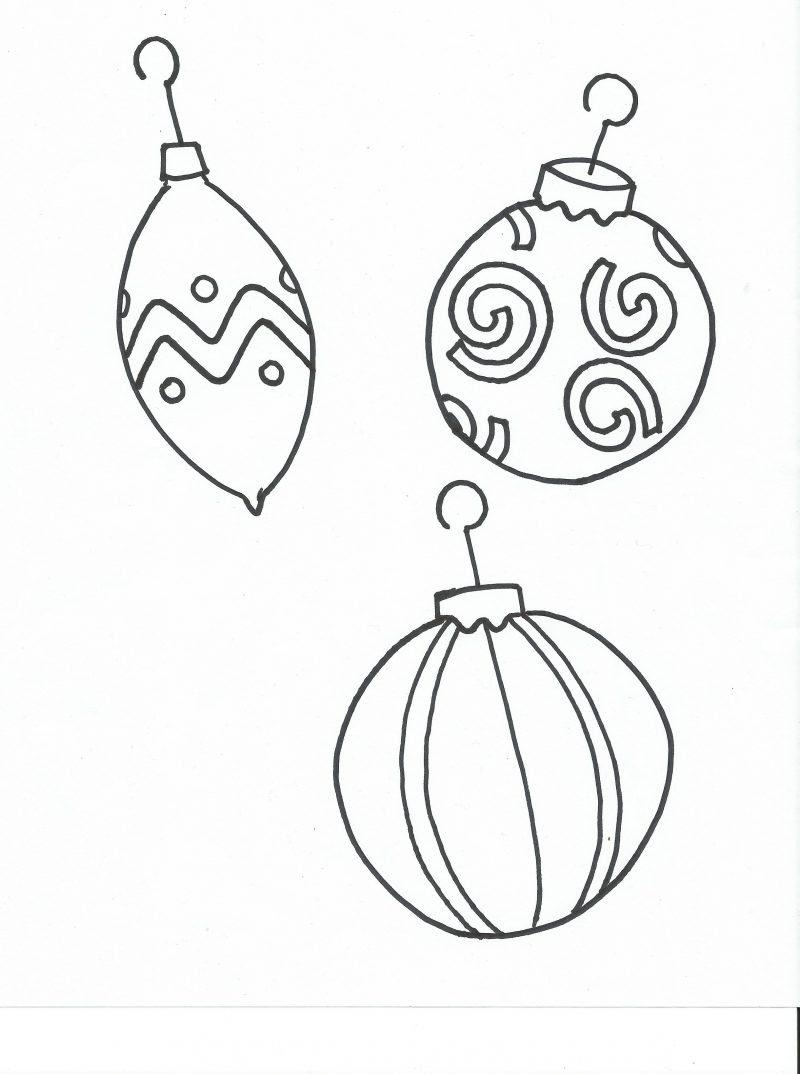 Malvorlagen für Weihnachten Schmuck für Fenster