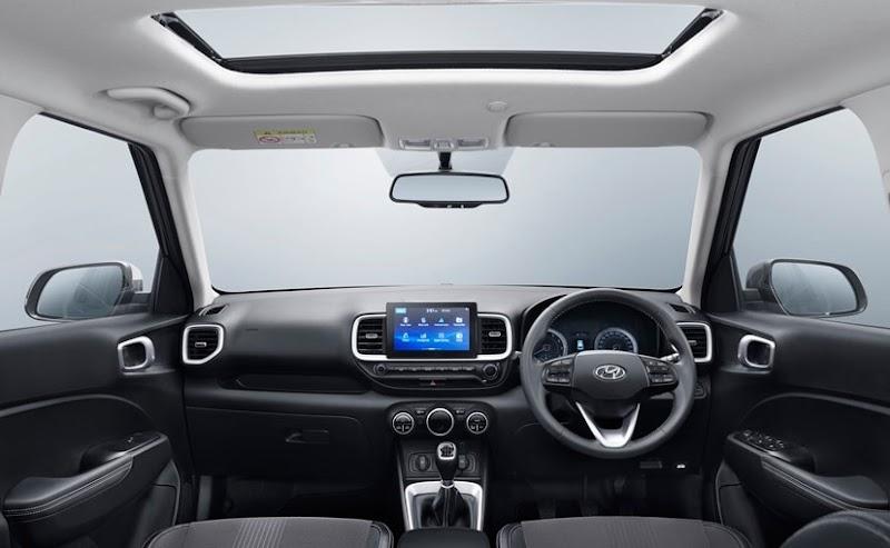 Interior Of Venue Car