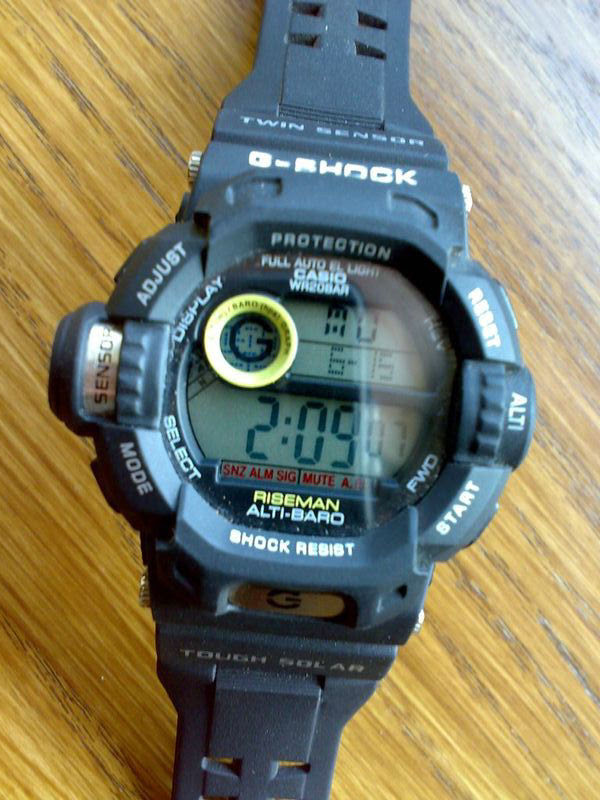 g-shock riseman manual g9200
