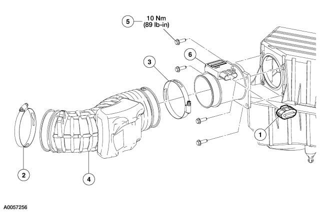 schematics and diagrams  maf sensor diagram for a 2003 ford explorer