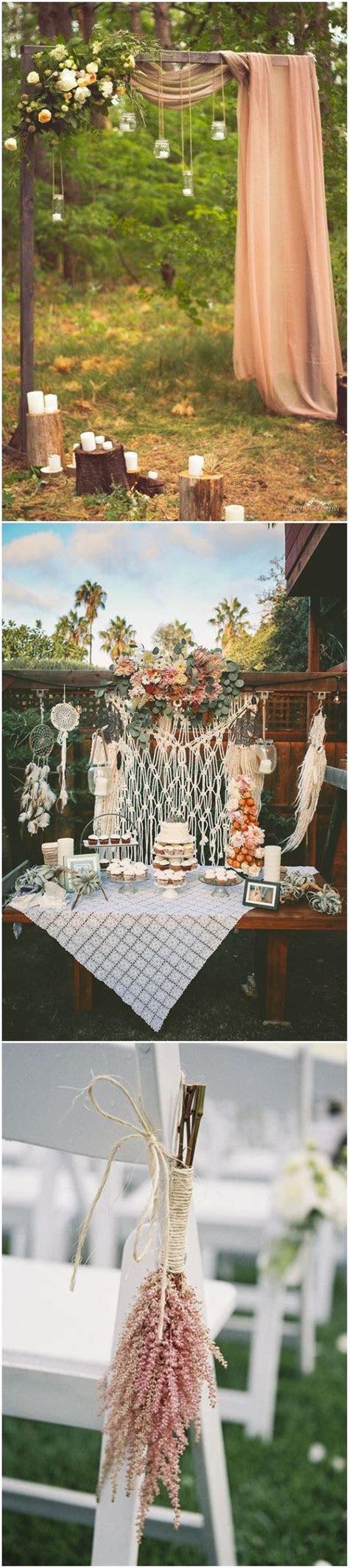 20  Gorgeous Boho Wedding Décor Ideas on Pinterest   Diy