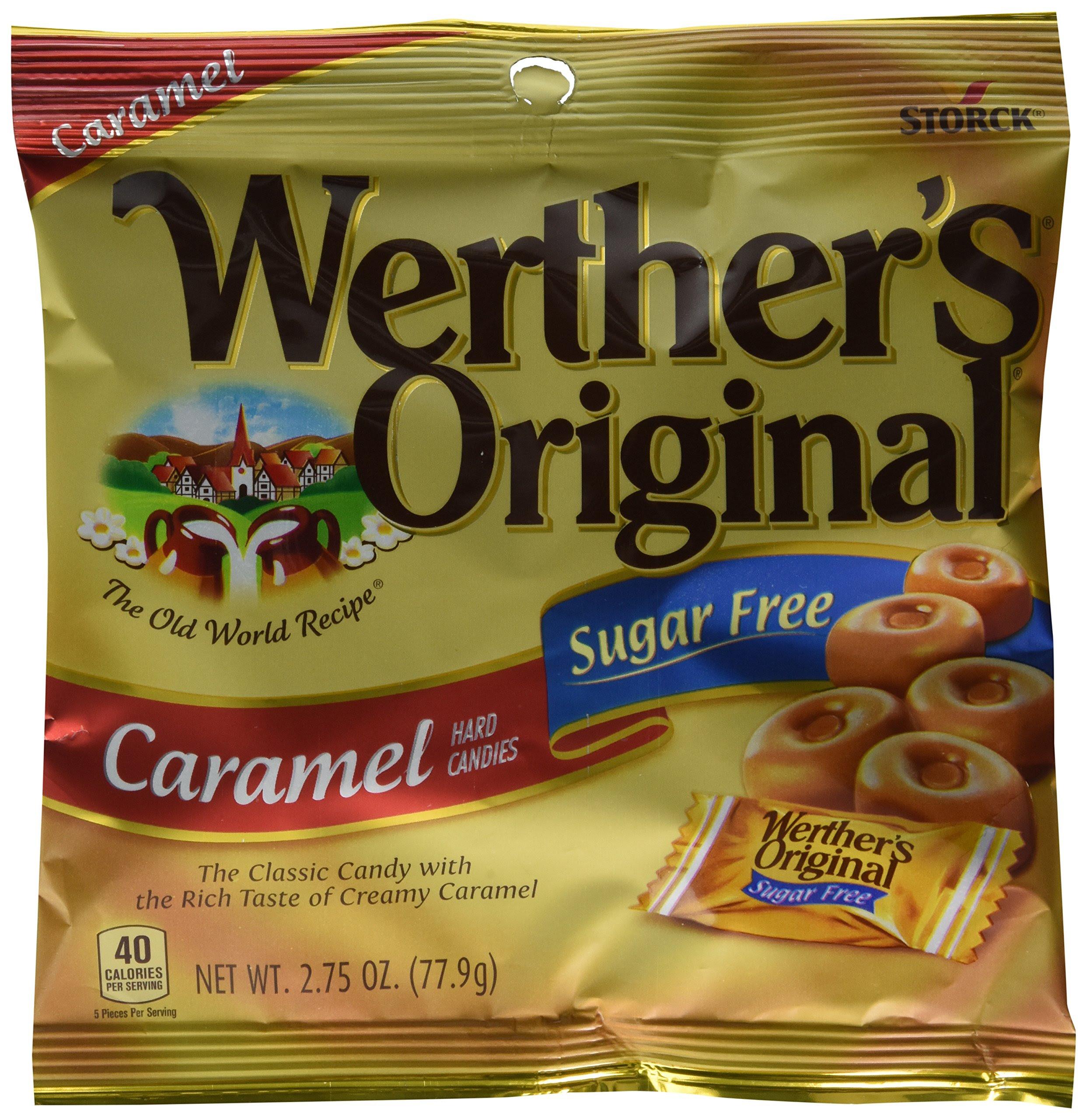 Werther's Original Hard Candy Caramel Sugar Free 2.75 ...