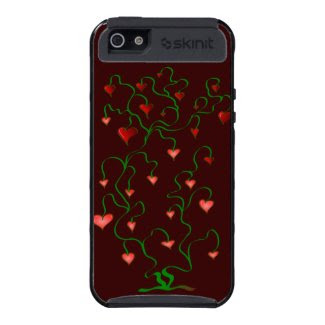 Tree of hearts cover for iPhone 5