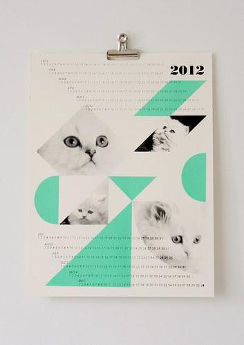dreamcats 2012 calendar
