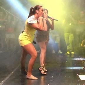 Anitta e Ivete fazem performance do Show das Poderosas (Foto: Reprodução/Instagram)