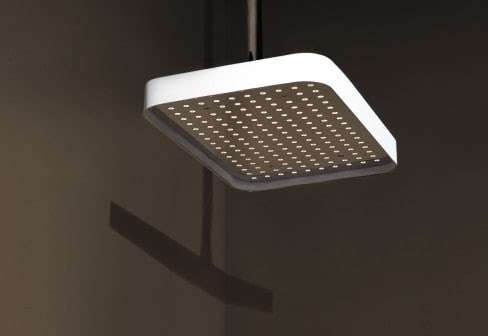 Simple Shower Head with Rim by Zucchetti
