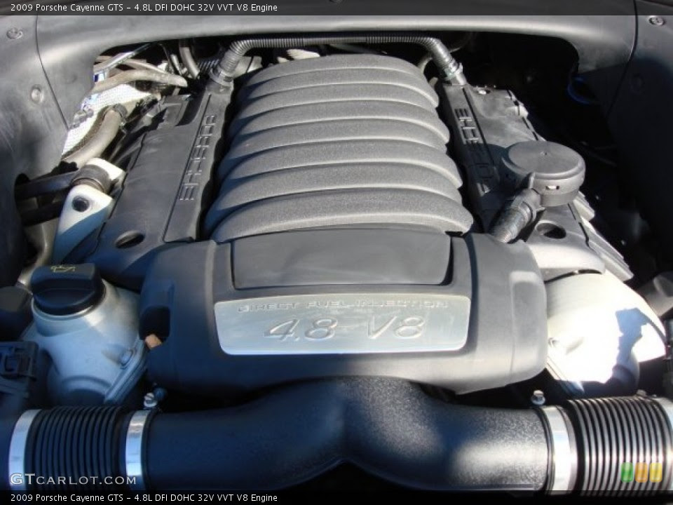 48l Dfi Dohc 32v Vvt V8 Engine For The 2009 Porsche Cayenne