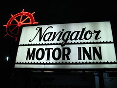 the Navigator will do for a night