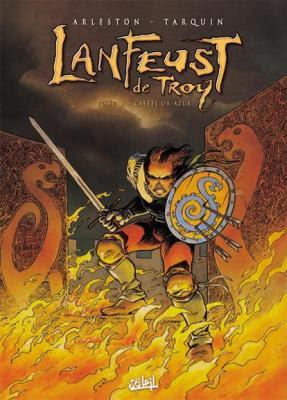 Couverture Lanfeust de Troy, tome 3 : Castel Or-Azur
