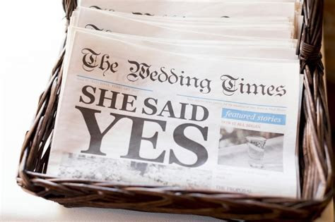 Wedding and Anniversary Newspapers   Print and Digital