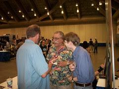 100_0430 Chris Sparks, Sergio Aragones and Richard Thompson