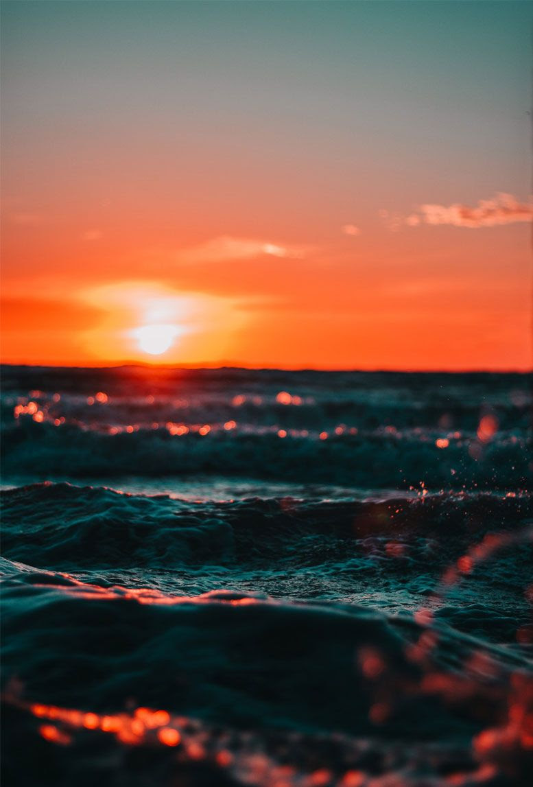7 Beautiful and romantic sunset iphone wallpapers - Idea ...