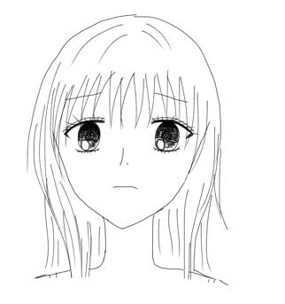イラストの特訓7顔の表情の描き方目眉口