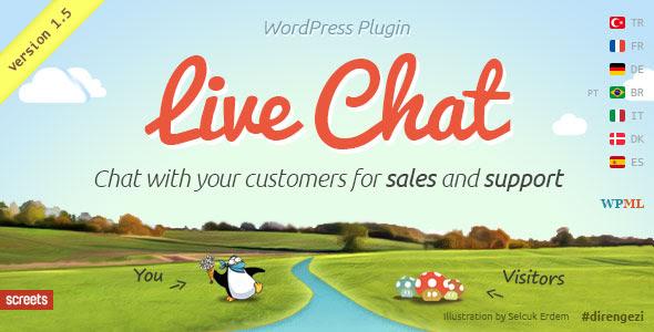 WordPress Live Chat Plugin v1.5 for Sales and Support