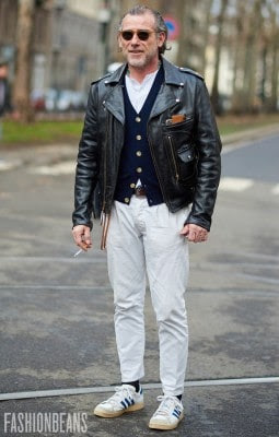 Alessandro Squarzi, Photographed in Milan<br/> Click Photo To See More