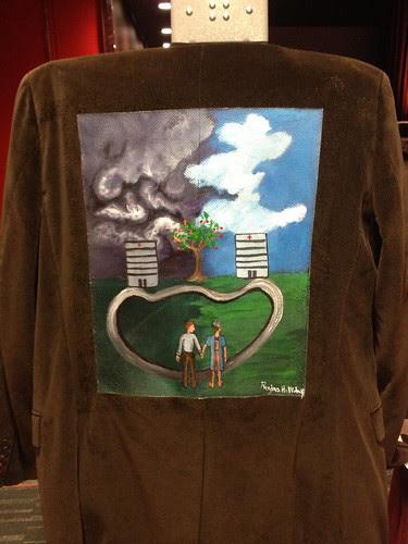 """""""Apples to Oranges"""" a jacket for Jim van den Beuken"""