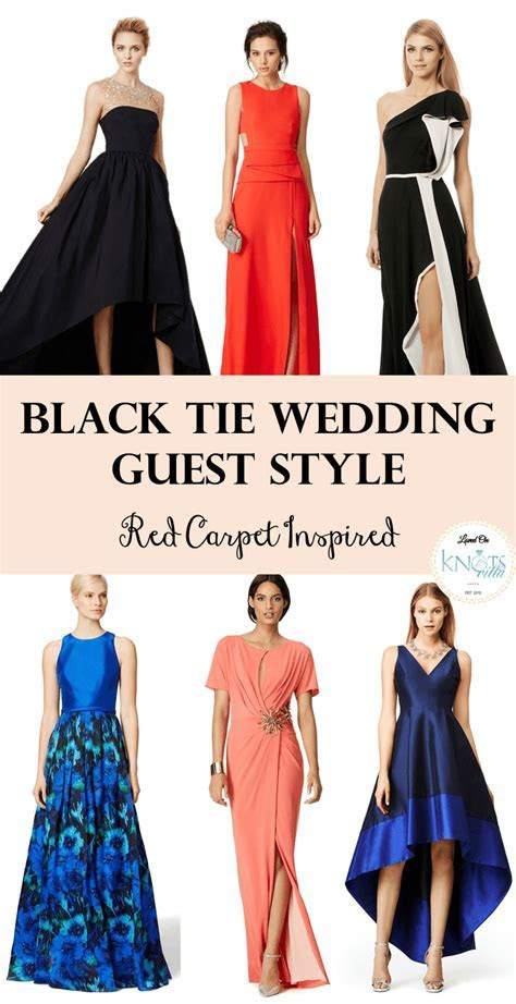 Black Tie Wedding Guest   Red Carpet Inspired   **Dresses