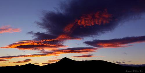 Benachie sunset