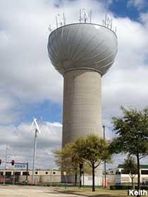 Whirlygig Water Tower.