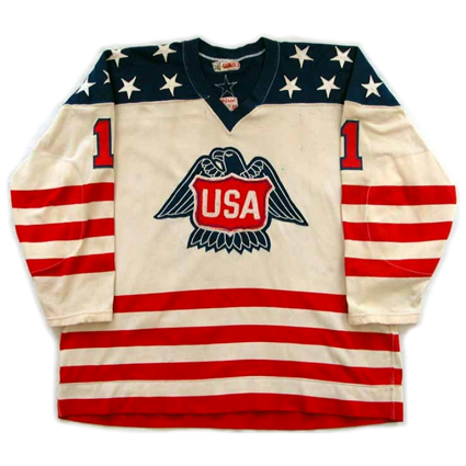 USA 1976 Canada Cup jersey, USA 1976 Canada Cup jersey