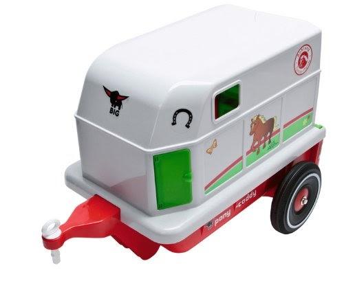 bobycar bester preis big 56296 bobby car pferde anh nger inkl pl sch pony. Black Bedroom Furniture Sets. Home Design Ideas