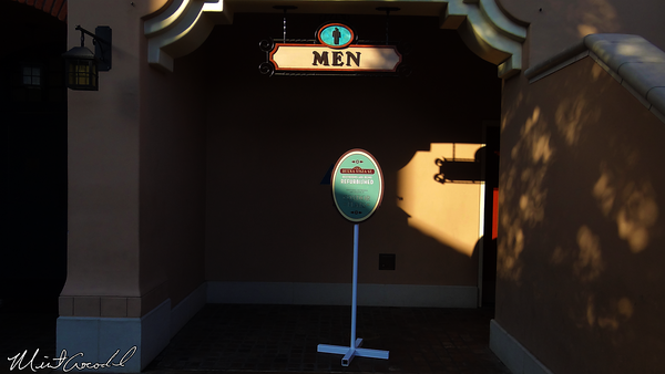 Disneyland Resort, Disney California Adventure, Buena Vista Street, Restrooms